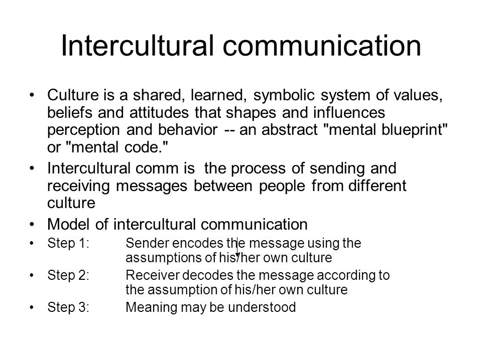 how communication is influenced by cultures and values of individuals Cultures are either high-context or low-context every aspect of global communication is influenced by cultural differences even the choice of medium used to communicate may have cultural overtones.