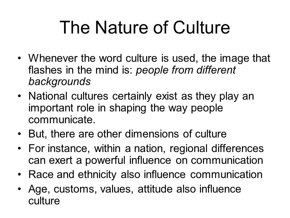 Effects of diversity ethnicity and culture on communication