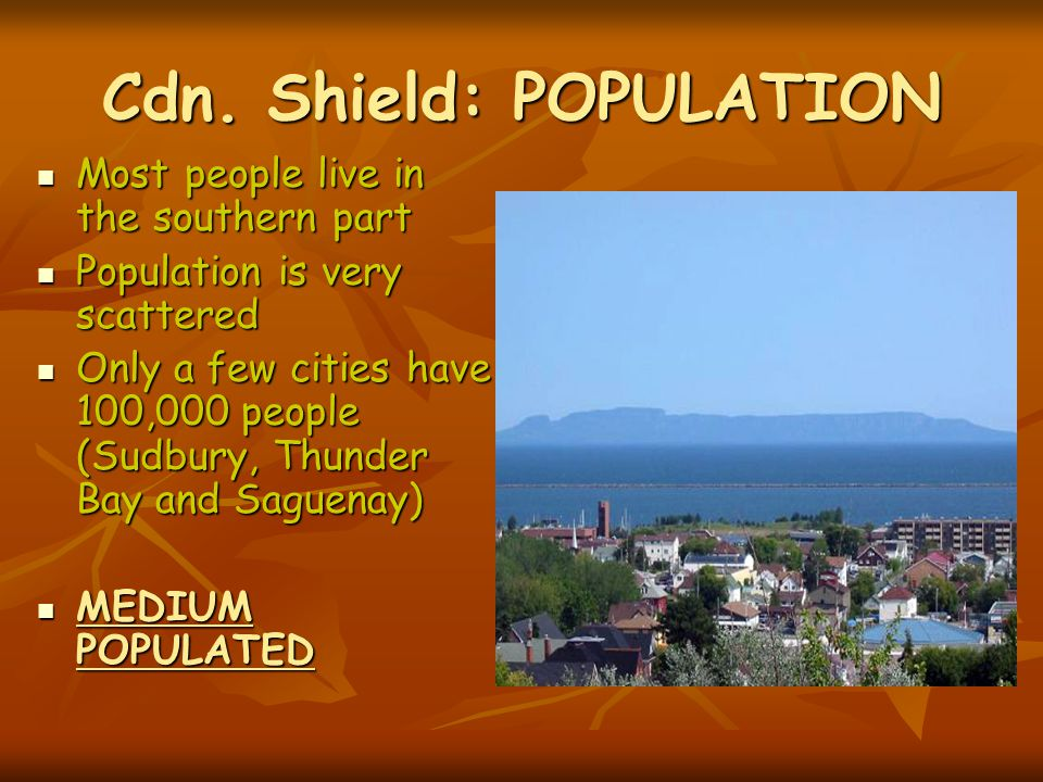 Cdn. Shield: POPULATION