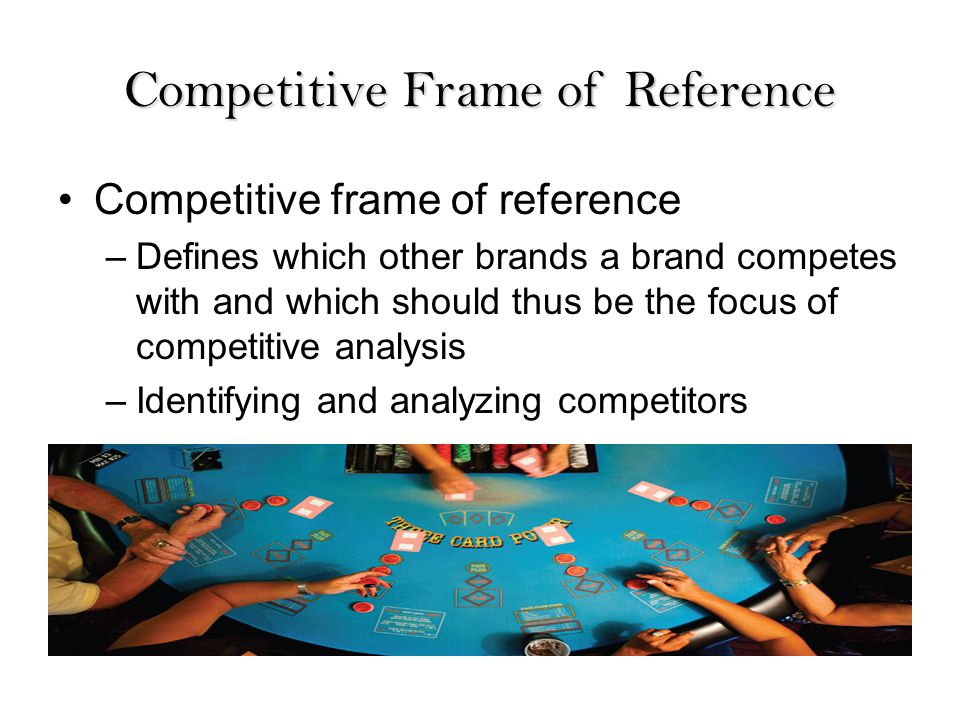 Competitive Frame Of Reference Definition - Frame Design & Reviews ✓