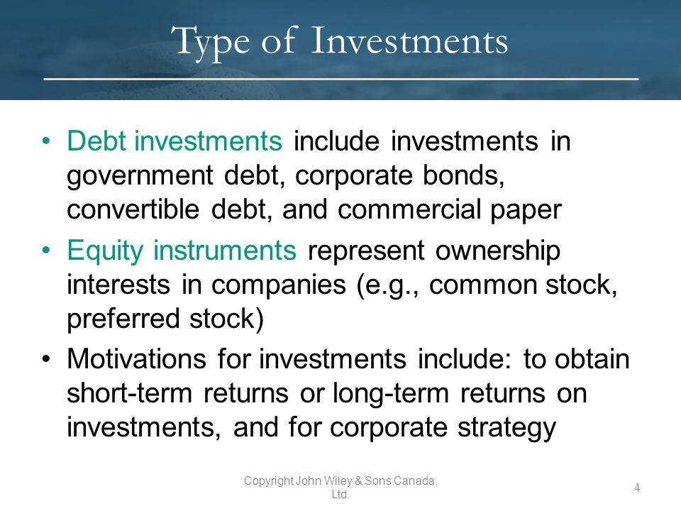 Debt vs. Equity Financing