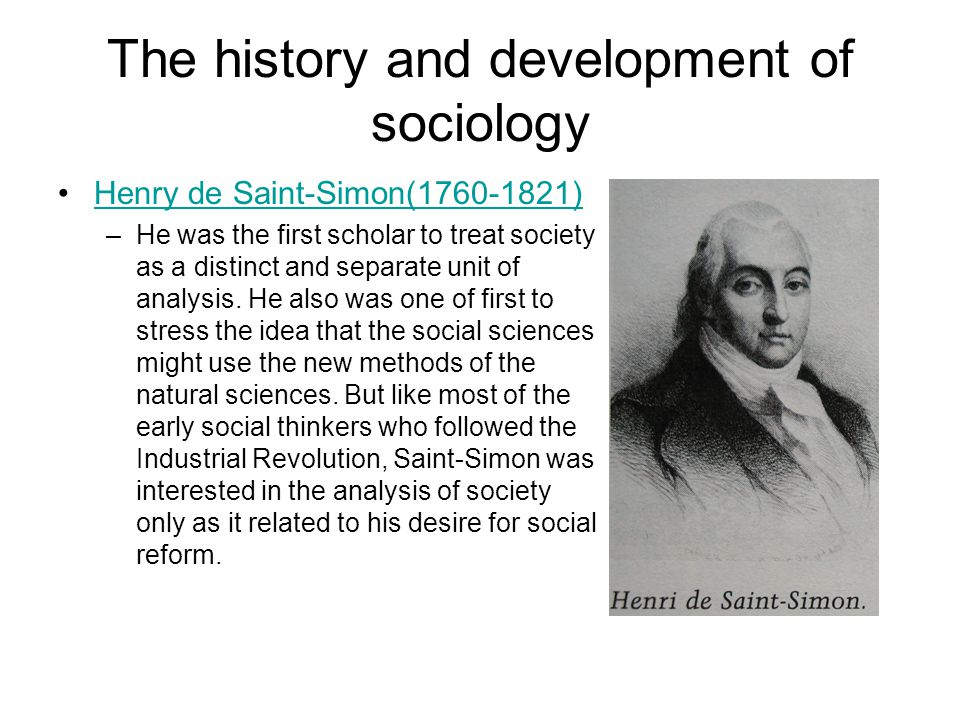 Sociology early thinkers