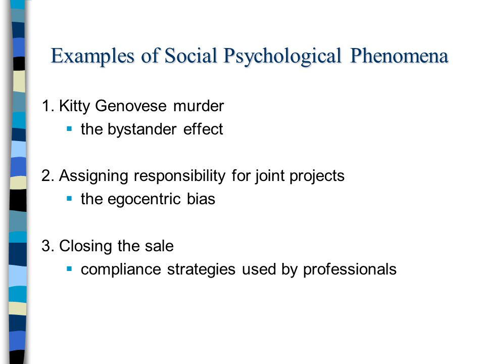 social psychology 4 essay Social psychology research topics a few ideas for papers, experiments, and other projects.