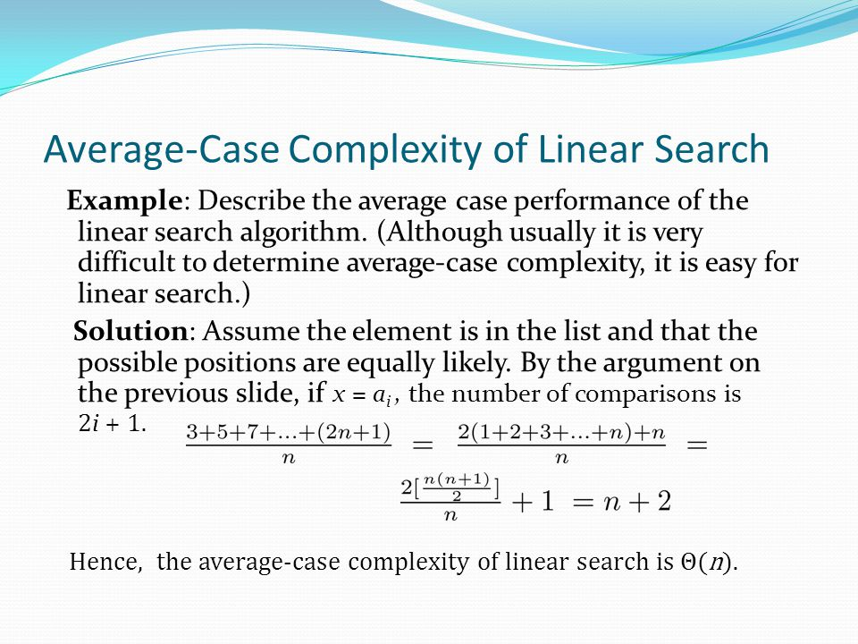 What is the time complexity of binary search algorithm ...