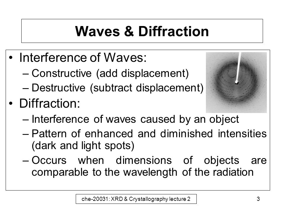 introduction to interference and diffraction Opti 505: interference and diffraction interference and interferometry, concepts  of coherence, holography, diffraction  chapter 1 – introduction interferometry.