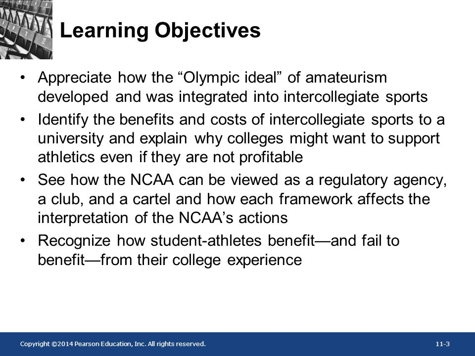 ncaas code of amateurism student athletes Many would argue that the ncaa exploits the student-athletes through  the  formal adoption of the amateur code in the ncaa constitution,.