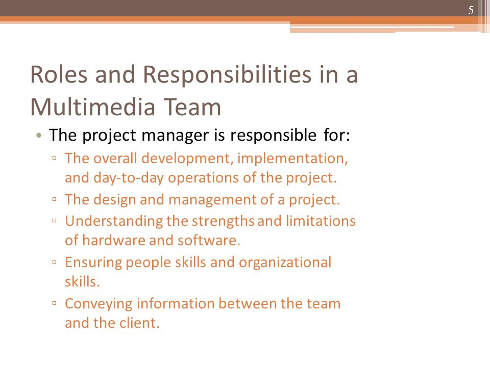 the software project manager is responsible for