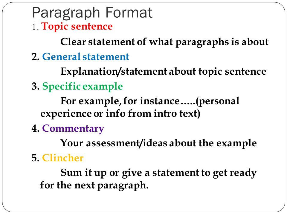 How to write a good application essay body