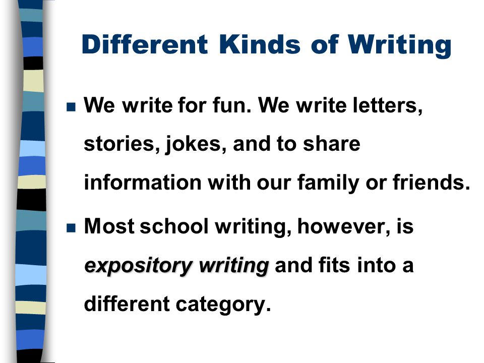 Different Types Of Essays For Students Of Different Levels  Types Of Essays