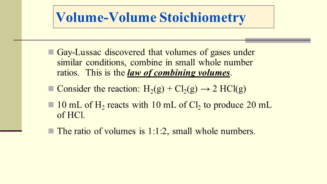 45 Volumevolume Stoichiometry Enter Image Source Here How To Find The Volume