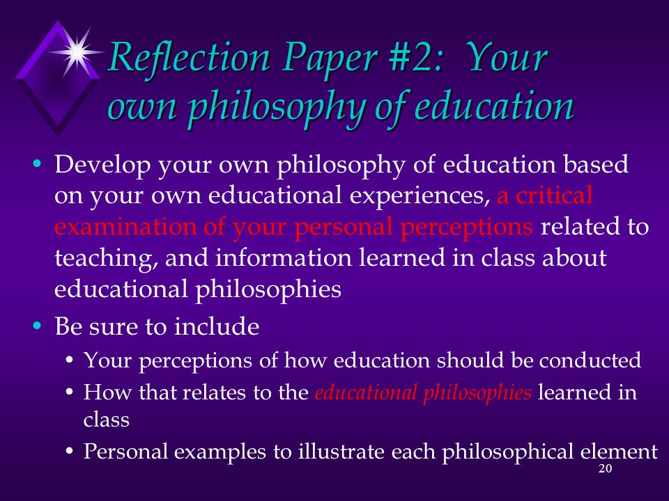 reflection paper on education 203 with The final requirement for this honor is a reflective essay written reflection is a  powerful way to document your learning and enhance your service experience.