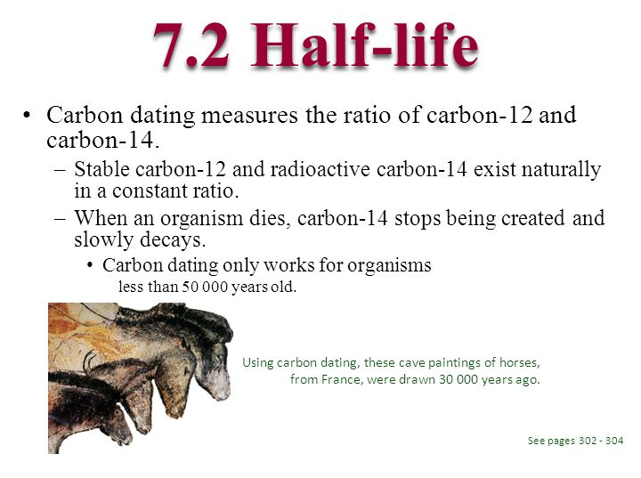 how does carbon dating work gcse