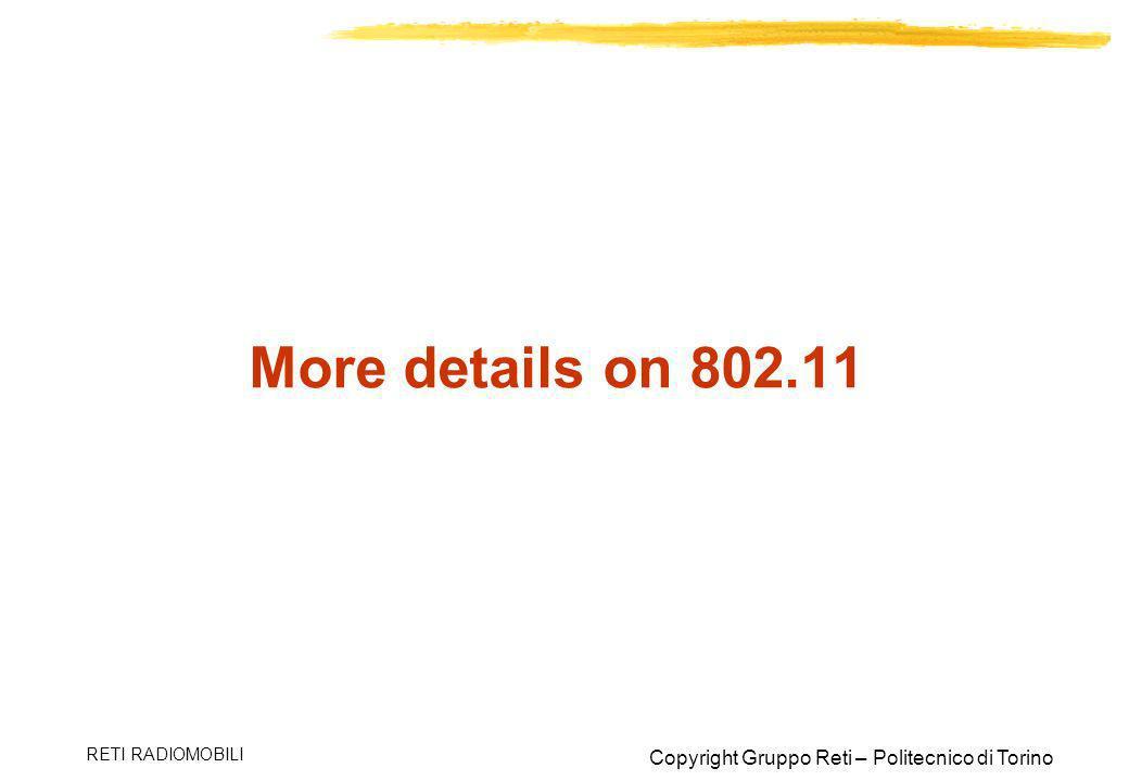 More details on 802.11 RETI RADIOMOBILI