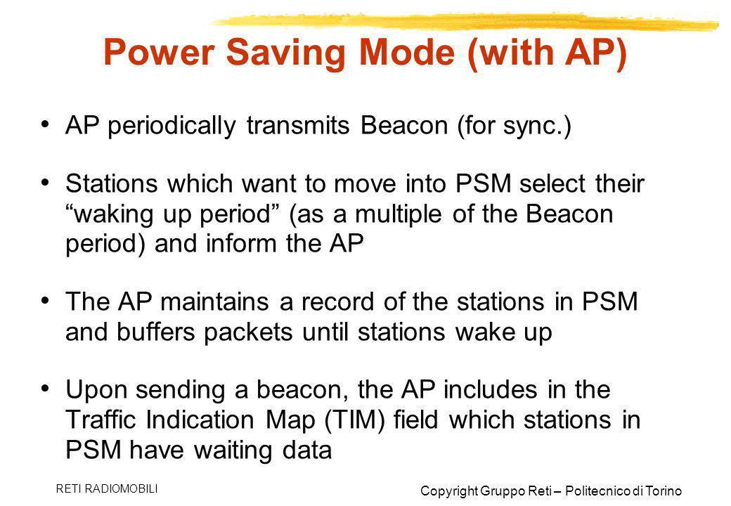 Power Saving Mode (with AP)