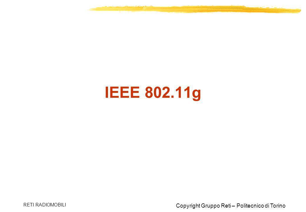 IEEE 802.11g RETI RADIOMOBILI