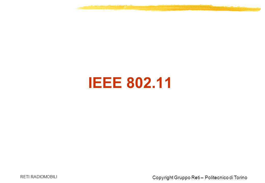 IEEE 802.11 RETI RADIOMOBILI
