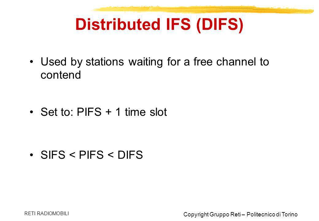 Distributed IFS (DIFS)