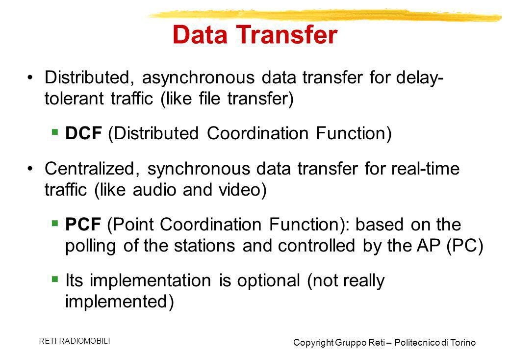 Data Transfer Distributed, asynchronous data transfer for delay-tolerant traffic (like file transfer)