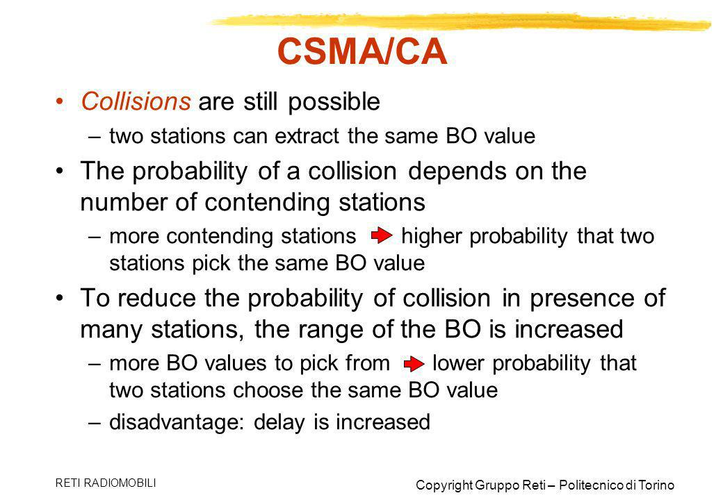 CSMA/CA Collisions are still possible