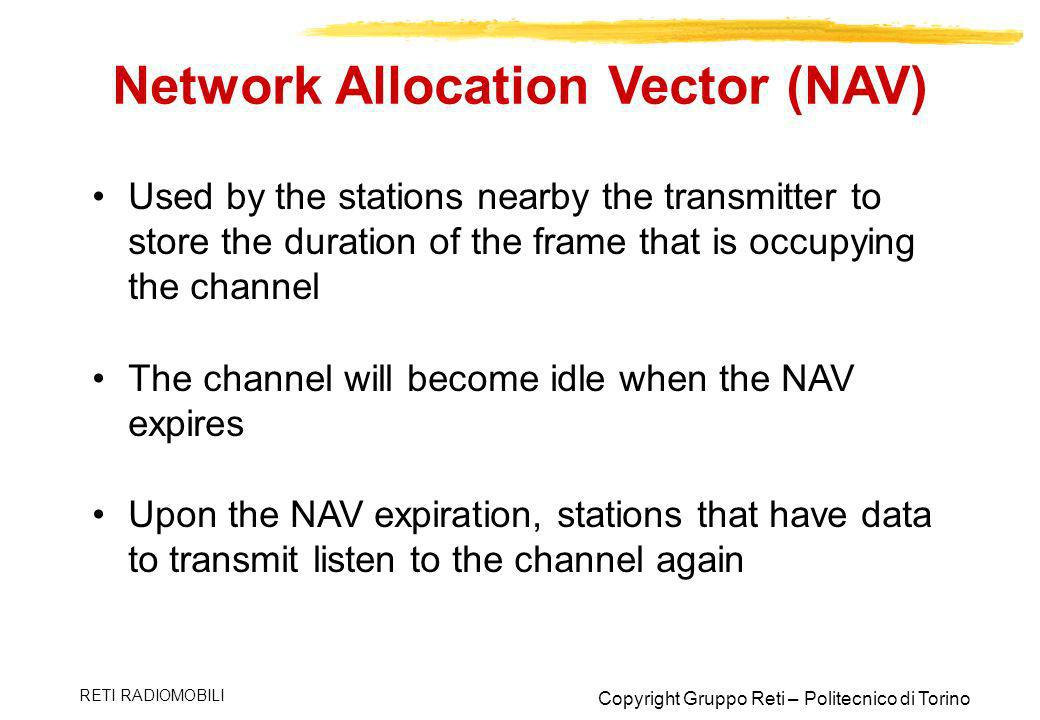 Network Allocation Vector (NAV)
