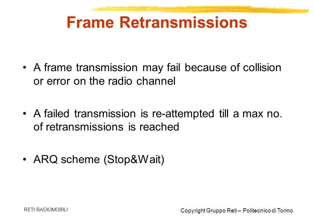 Frame Retransmissions