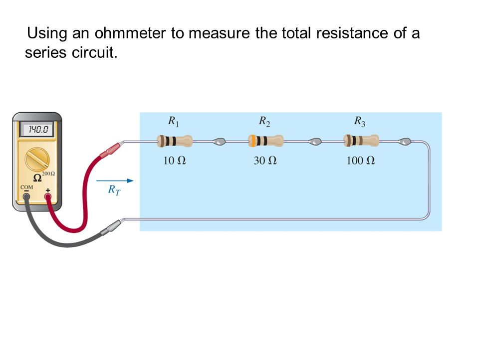 Using An Ohmmeter : Ppt video online download