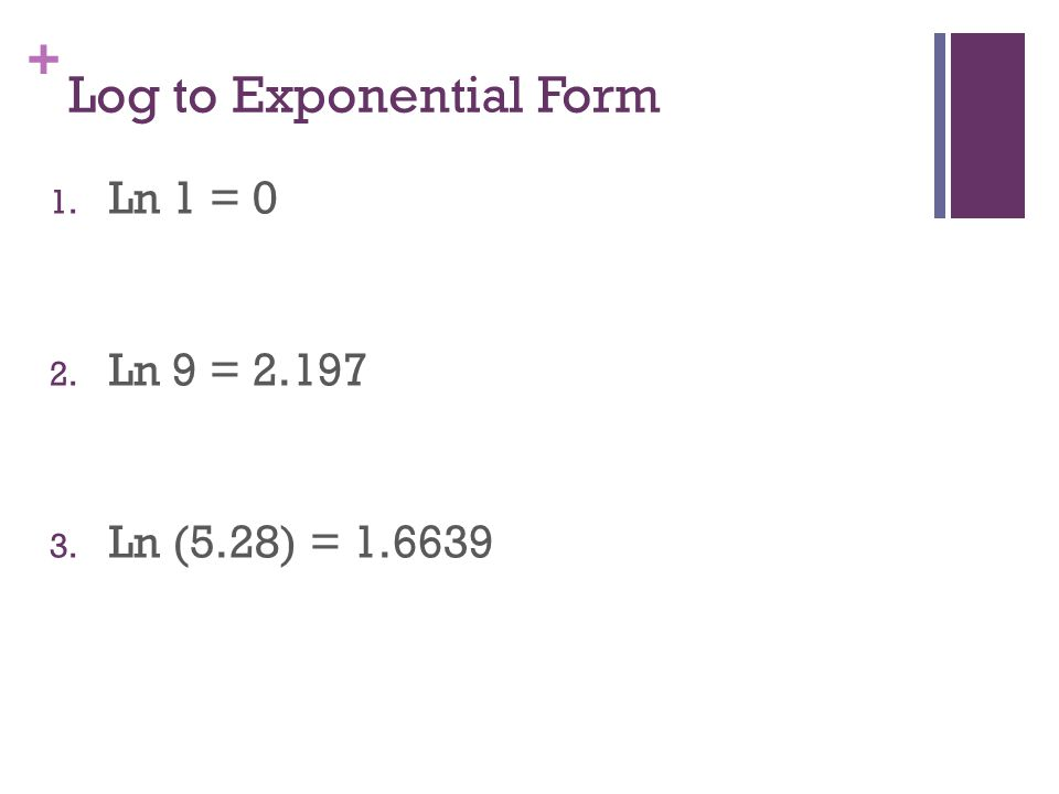 Chapter 8 Exponential and Logarithmic Functions - ppt video online ...