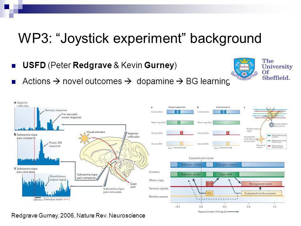 WP3: Joystick experiment background