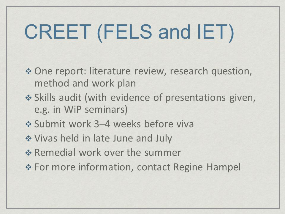 Research question before or after literature review