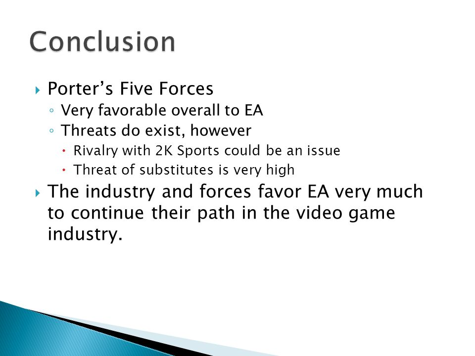 ea games pest analysis Find the latest and comprehensive swot & pestle analysis of electronic arts,  one of the largest developers in the video game industry.