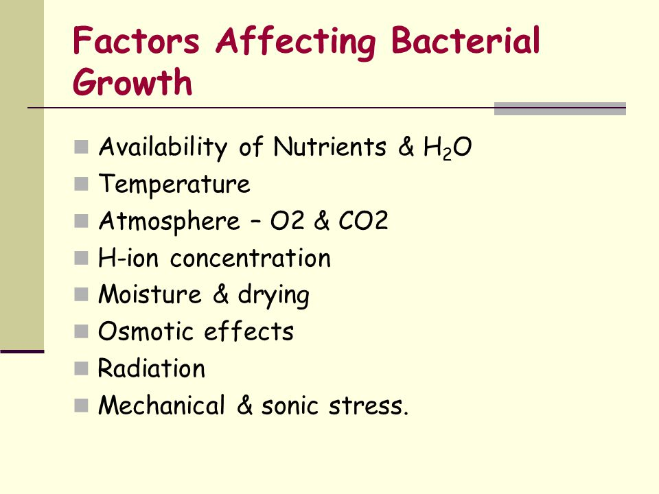 bacterial growth pattern factors The fractal patterns of bacterial colonies  reasons why bacteria should form patterns during growth and development  include genetic and cellular factors seen in more sophisticated .