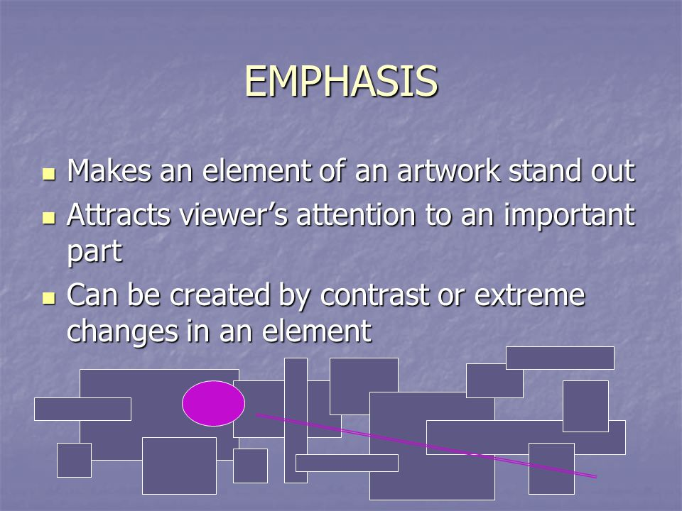 Importance Of Elements Of Art : Art principles of design ppt video online download