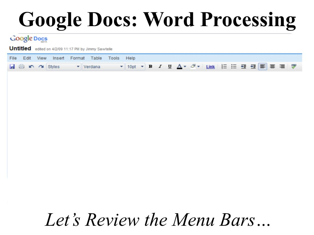 google docs allows users within gpisd to create word With google docs word processor review