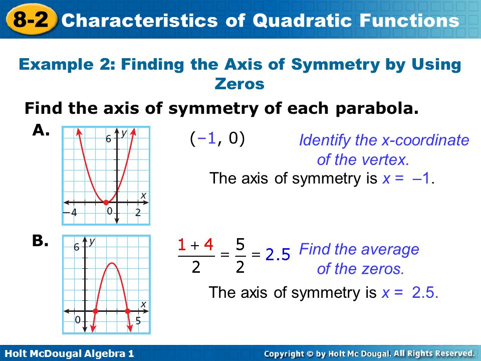 objectives find the zeros of a quadratic function from its graph ppt video online download. Black Bedroom Furniture Sets. Home Design Ideas