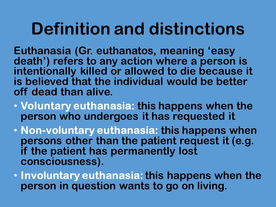 on the moral permissibility of suicide Five objections to the moral permissibility of voluntary euthanasia the fact that assisted suicide and voluntary euthanasia have not yet been widely decriminalised is perhaps best explained along the lines that have frequently been offered for excluding consent of the victim as.