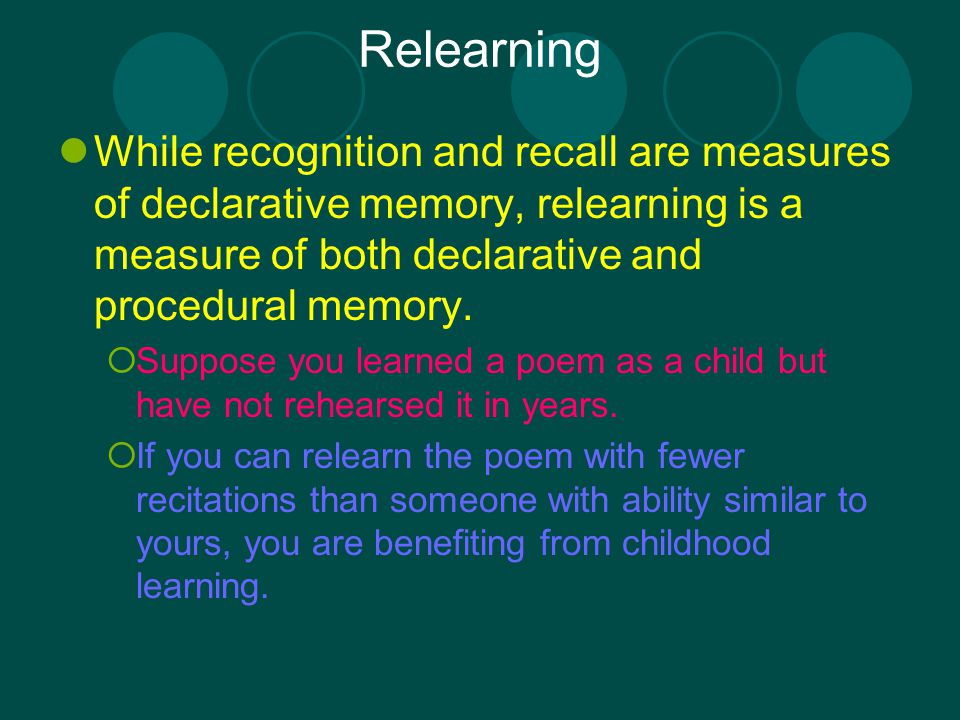 recognition recall Recall vs recognition activity - duration: 6:10 michelle mulhair 3,092 views 6:10 how we make memories - crash course psychology #13 - duration: 9:55.