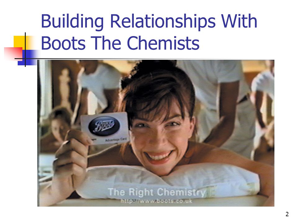 Building Relationships With Boots The Chemists