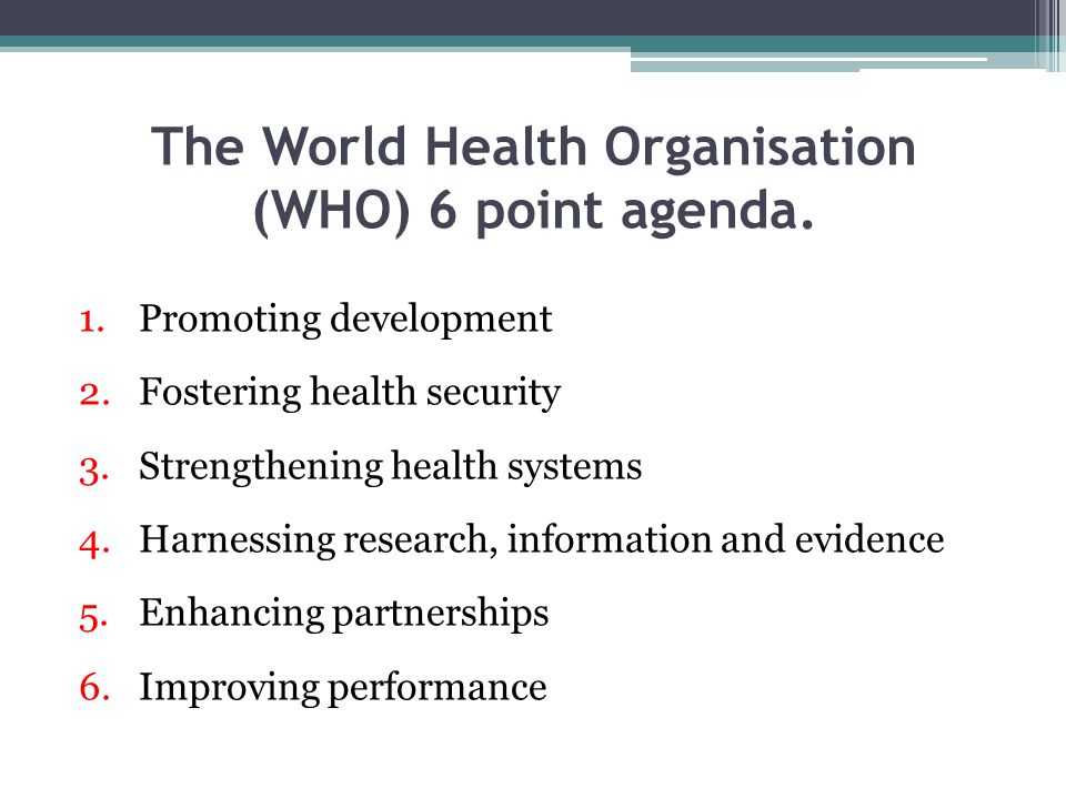 world health organisation who describes health promotion Who library cataloguing in publication data world health organization regional office for the eastern mediterranean health education: theoretical concepts, effective strategies and core competencies: a foundation document to guide capacity.