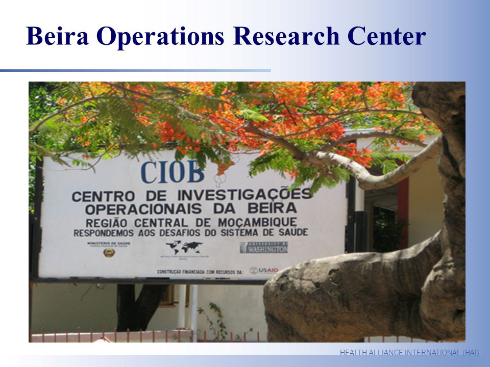 Beira Operations Research Center