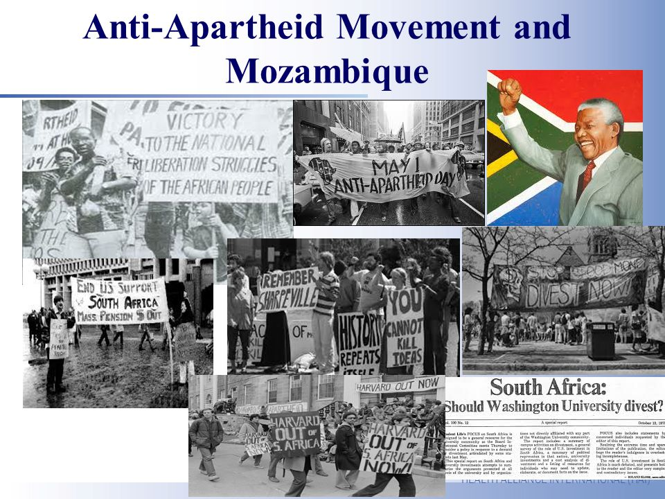 Anti-Apartheid Movement and Mozambique