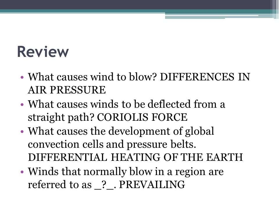 World Climate Patterns World Geo 3200/3202 Unit 2 November ppt ...