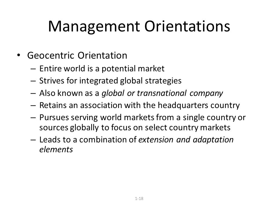 management orientations 2 describe four marketing management philosophies  these philosophies are commonly referred to as production, sales, marketing, and societal marketing orientations.