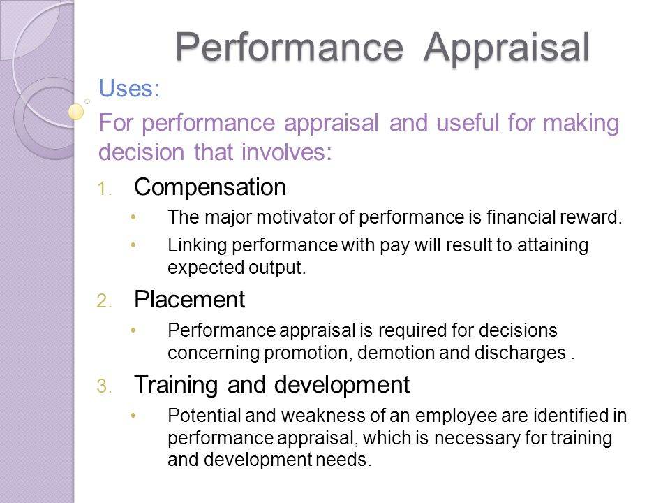 performance evaluation training and development Training and development describes the formal, ongoing efforts that are made within organizations to improve the performance and evaluation of the training.