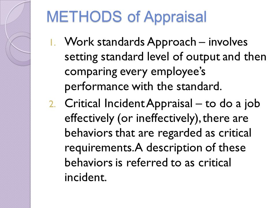 behavioral anchored rating scale essay The bars behaviorally anchored rating scales method of evaluating employees carries typical job appraisals one step further instead of relying on behaviors.