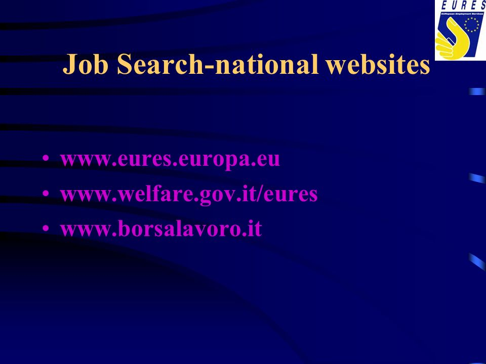 Job Search-national websites