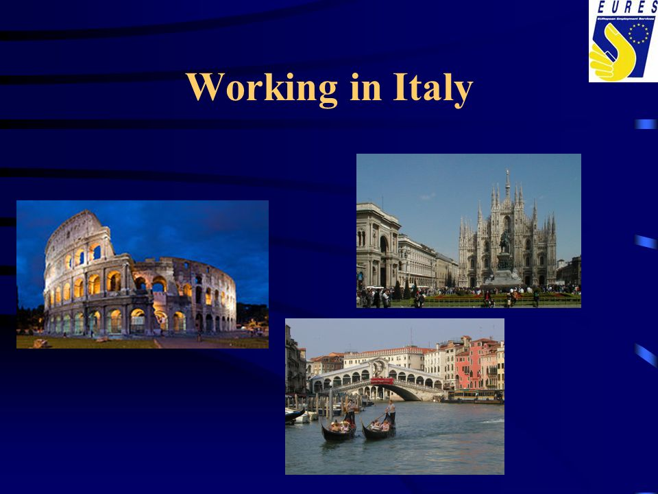 Working in Italy