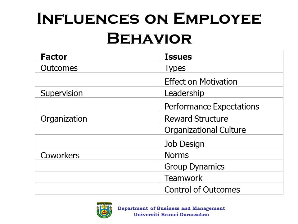 Organizational Behavior - Motivation