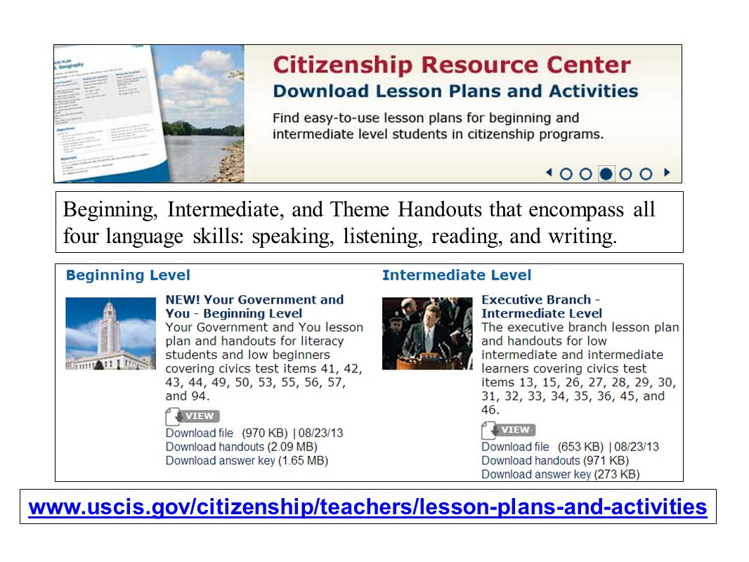 Resources and Strategies for the USCIS Citizenship Interview - ppt ...
