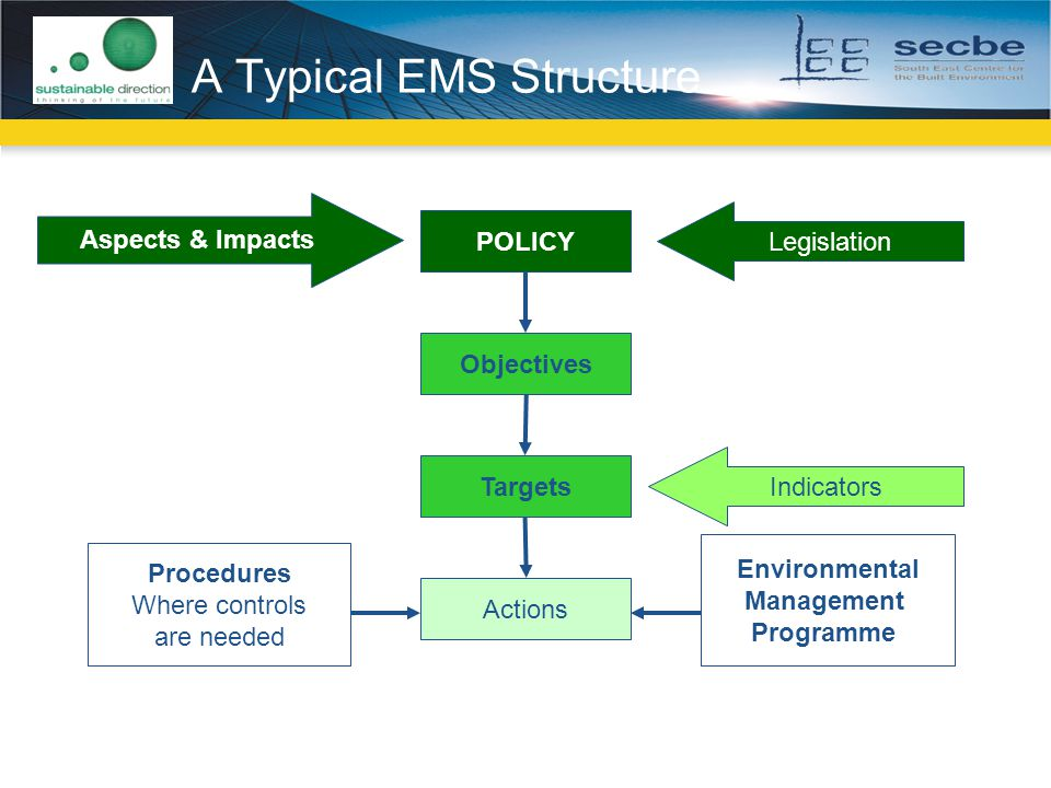A Typical EMS Structure