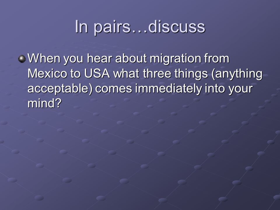 migration into the united states essay Immigration, perhaps more than any other social, political, or economic process, has shaped the united states as a nation the immigration-driven transformation of the country's economic and social landscape has previously occurred during distinct historical periods.